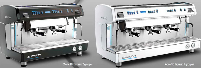 X-One TCi Espresso & Tall Cup 2 groups