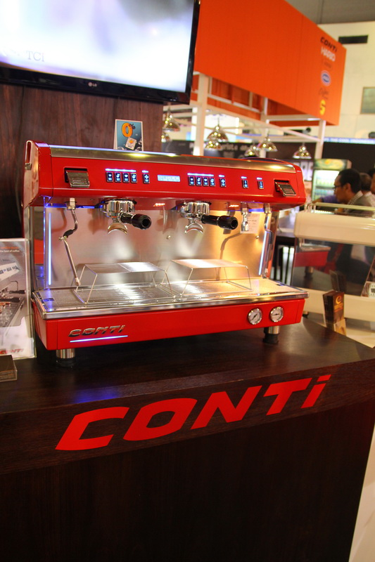 Conti on display. Come & try yourself!